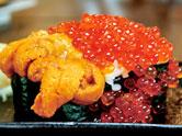 ぶっかけウニイクラ寿司